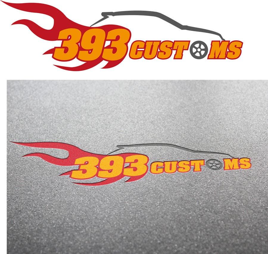 Kilpailutyö #152 kilpailussa Logo Design for 393 CUSTOMS