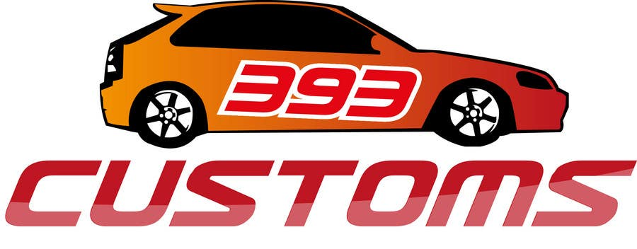 Kilpailutyö #86 kilpailussa Logo Design for 393 CUSTOMS