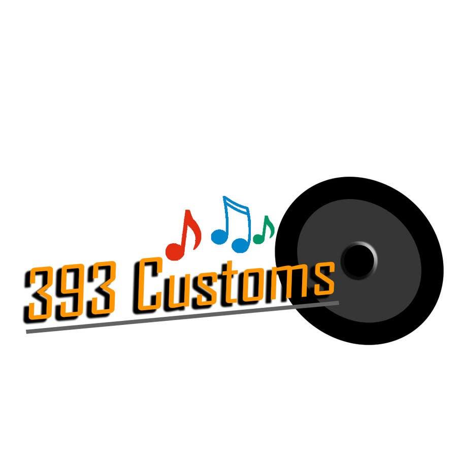 Kilpailutyö #73 kilpailussa Logo Design for 393 CUSTOMS