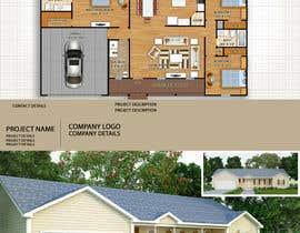 Nikunj051186 tarafından Turn new home construction drawings into a marketing sheet for a home plan için no 19
