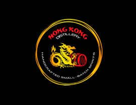 #44 for Design a sticker for our Hong Kong Distillery logo by chanmack
