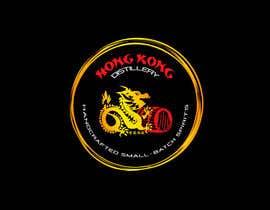 #44 για Design a sticker for our Hong Kong Distillery logo από chanmack