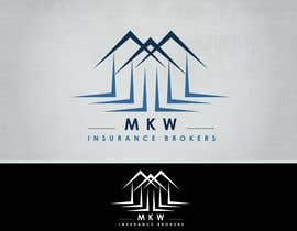#425 za Logo Design for MKW Insurance Brokers  (replacing www.wiblininsurancebrokers.com.au) od ShelleyKasli