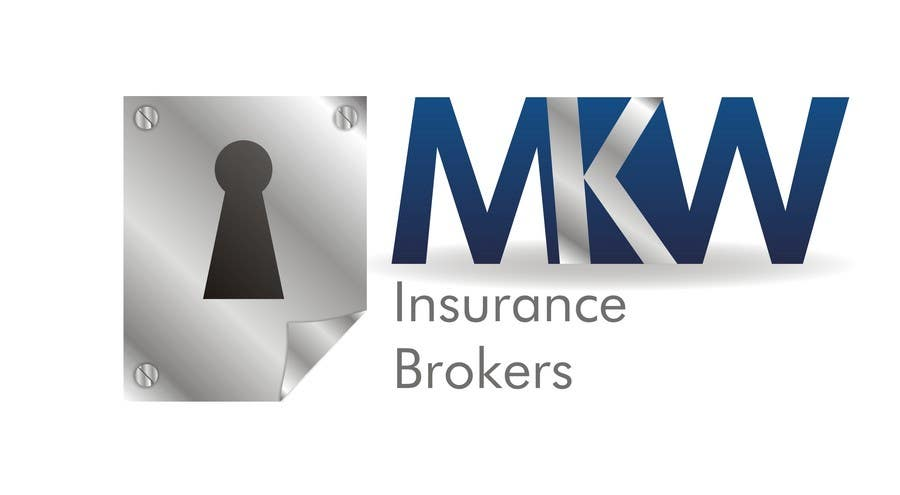 Wettbewerbs Eintrag #412 für Logo Design for MKW Insurance Brokers  (replacing www.wiblininsurancebrokers.com.au)