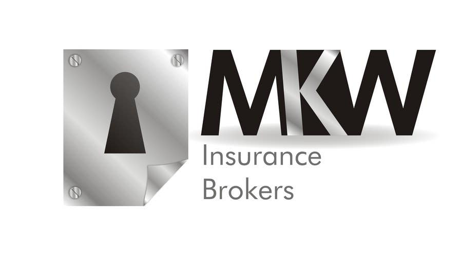 Συμμετοχή Διαγωνισμού #410 για Logo Design for MKW Insurance Brokers  (replacing www.wiblininsurancebrokers.com.au)