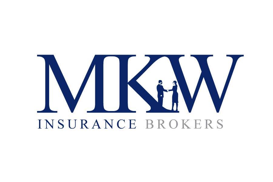 Logo Design for MKW Insurance Brokers (replacing www ...