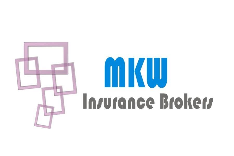 Συμμετοχή Διαγωνισμού #298 για Logo Design for MKW Insurance Brokers  (replacing www.wiblininsurancebrokers.com.au)