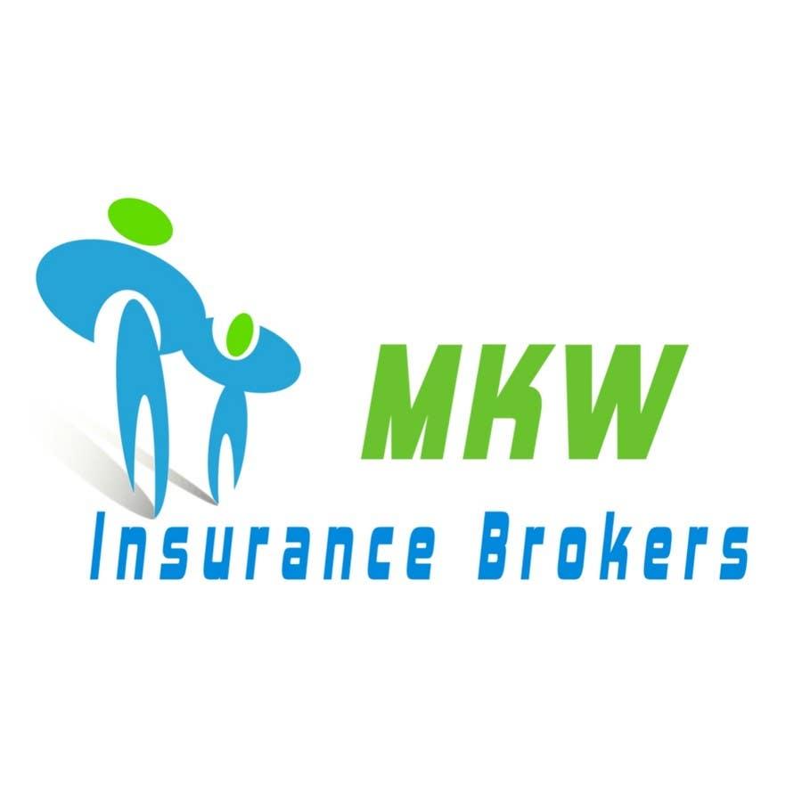 Participación en el concurso Nro.299 para Logo Design for MKW Insurance Brokers  (replacing www.wiblininsurancebrokers.com.au)