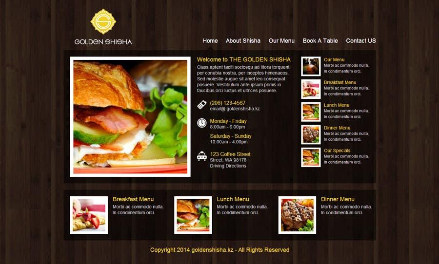 Inscrição nº                                         22                                      do Concurso para                                         Создание веб-сайта for the thegoldenshisha.com