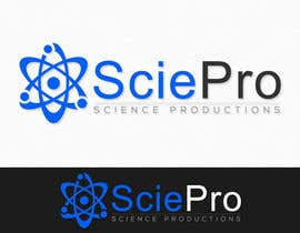 #100 para Logo Design for SciePro - science productions por niwrek