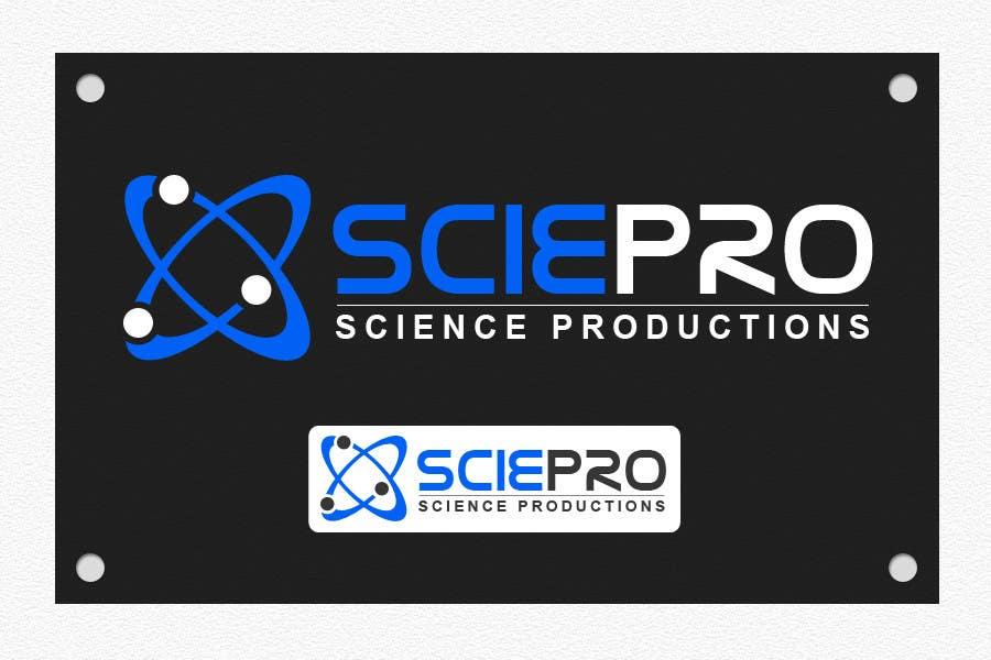 Конкурсная заявка №16 для Logo Design for SciePro - science productions