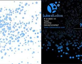 #37 pentru Business Card Design for Luke's Studio de către scutamil