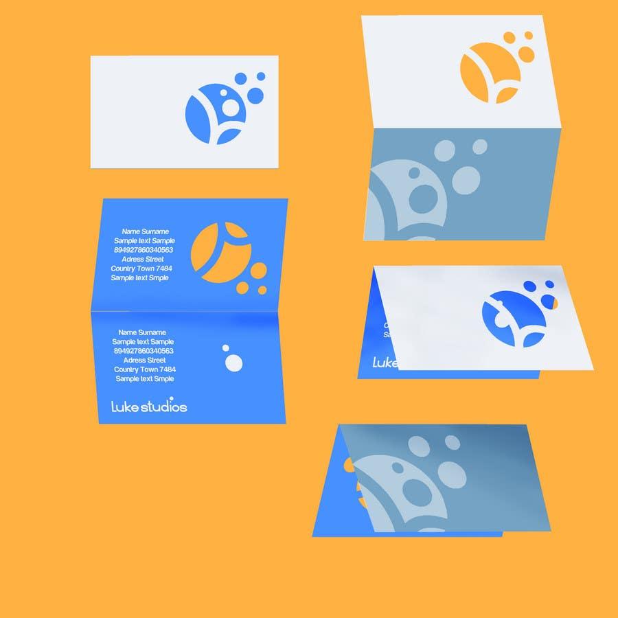 Inscrição nº 56 do Concurso para Business Card Design for Luke's Studio