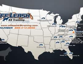 #16 para Design a Map Of Dog Training Locations por ltfdigital