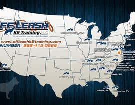 #17 para Design a Map Of Dog Training Locations por ltfdigital