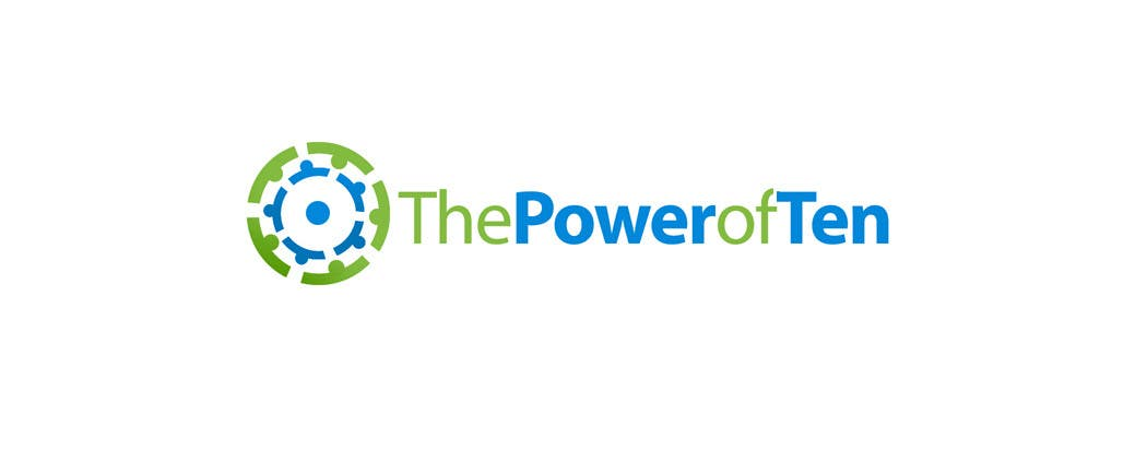 #66 for Logo Design for The Power of Ten by pinky