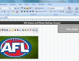 #1 for AFL - Statistics in a spreadsheet af jaylancer43