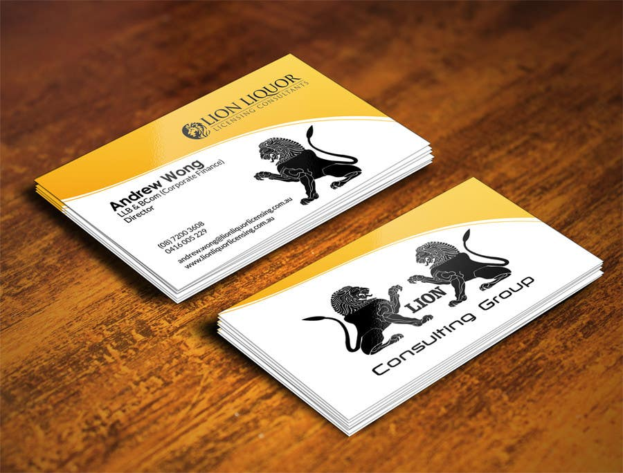 Entry #55 by airimgc for Design some Business Cards for company ...