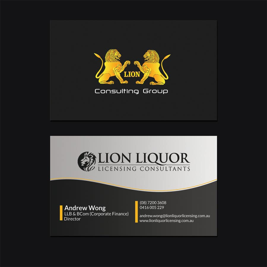 Entry #73 by airimgc for Design some Business Cards for company ...
