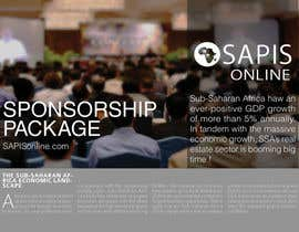 #24 untuk reDesign a Brochure for sponsorship of event oleh LascoDaniil