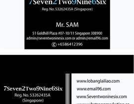 #19 untuk Design some Business Cards for SevenTwoNineSix oleh dodiaheena17
