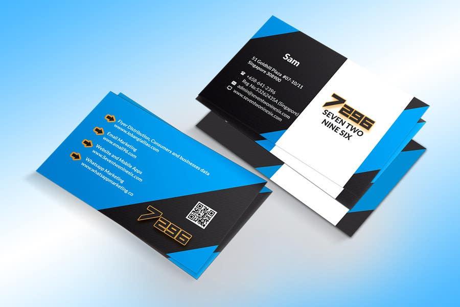 Penyertaan Peraduan #                                        24                                      untuk                                         Design some Business Cards for SevenTwoNineSix