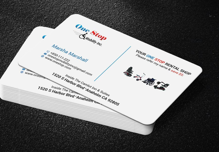 Entry #141 by noorpiash for Design New Business Cards | Front & Back ...