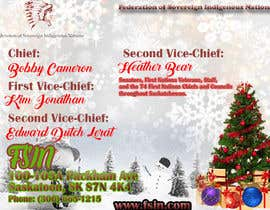 #2 for (fsin) Design a christmas message / ad for an Indigenous entity by designerAwan