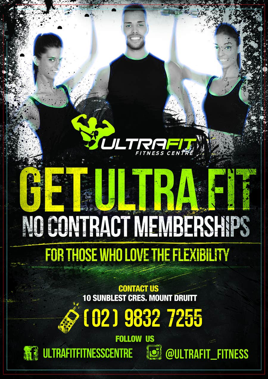 Konkurrenceindlæg #                                        15                                      for                                         ULTRAFIT No Contract Promo Offer