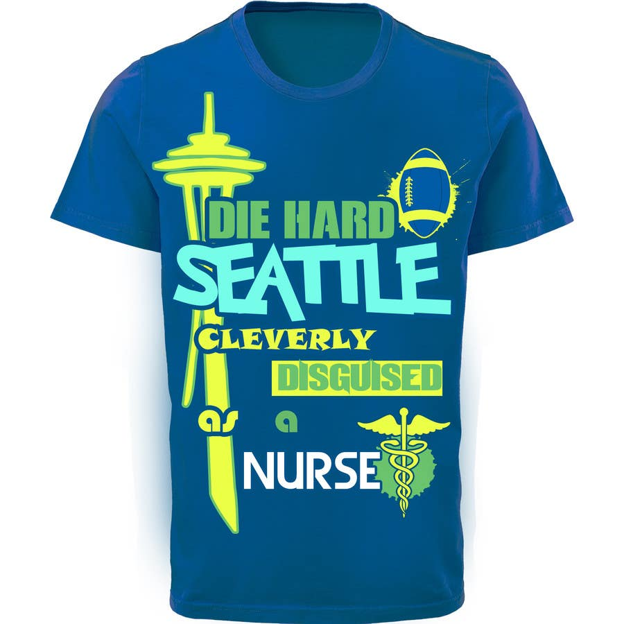 Entry 22 By Orangesindia For Design A T Shirt For Seattle