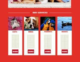 #3 untuk Design a Wordpress Mockup for Pet Food Website oleh janjuamahad1