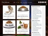 Graphic Design Entri Peraduan #18 for Design a Wordpress Mockup for Pet Food Website