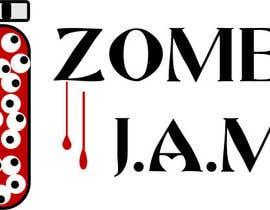 "#1 untuk Design a T-Shirt for a kids' band called ""Zombie J.A.M."" oleh lfsolly"