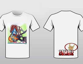 """#14 untuk Design a T-Shirt for a kids' band called """"Zombie J.A.M."""" oleh Markkyter21"""
