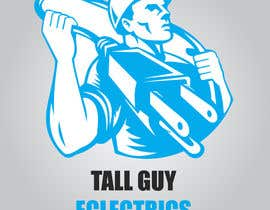 waleedashakir tarafından Design a business Logo - 'Tall Guy Electrics' için no 25