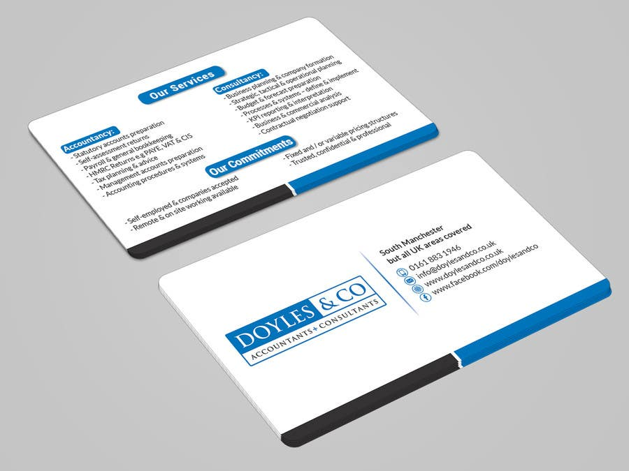 Entry 19 by mahmudkhan44 for design a professional and impactful business card reheart Images