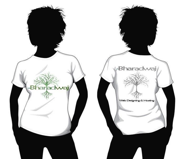 Kilpailutyö #                                        24                                      kilpailussa                                         T-shirt Design for Bharadwaj