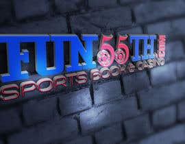 #11 untuk Fun55th.Com logo design oleh Vitalcrew
