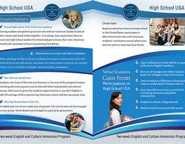 #14 para Brochure Design for Center for High School Global Alliances por creationz2011