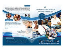 #9 para Brochure Design for Center for High School Global Alliances por creationz2011