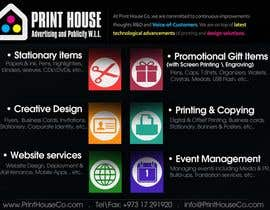 #38 untuk Design a Flyer for Print House Services oleh darkemo6876