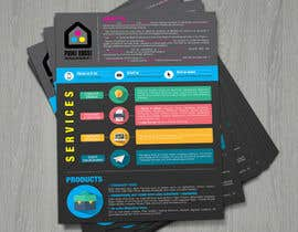 #51 untuk Design a Flyer for Print House Services oleh LemonIron