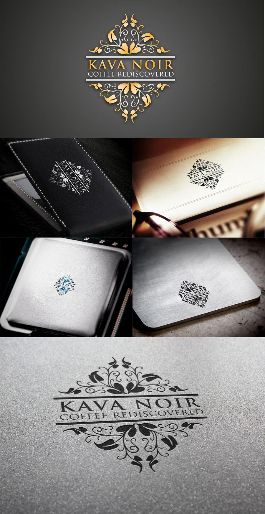 Конкурсная заявка №145 для Logo Design for KAVA NOIR