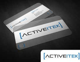 #30 para Logo Design for ActiveItek por BlackArrowDS