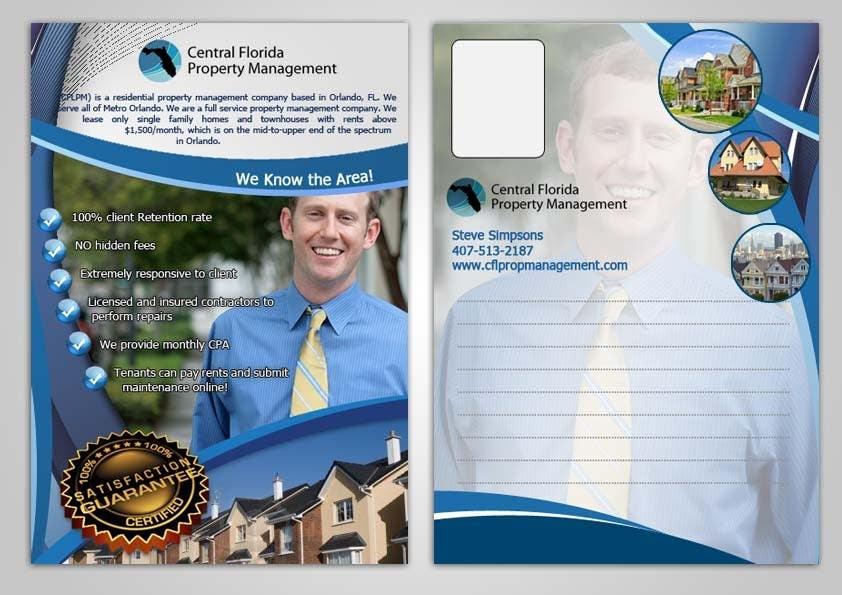 #29 for Ashington Park Flyer Design for Central Florida Property Management by EhabSherif