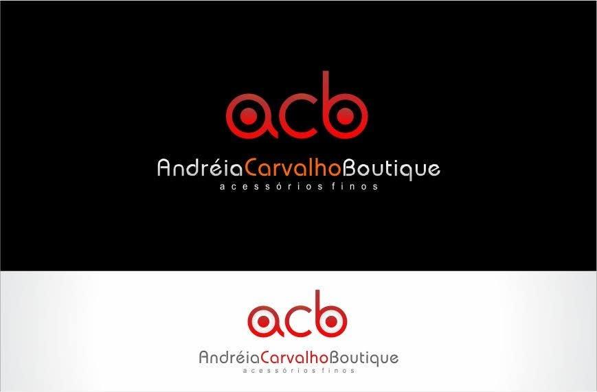 Kilpailutyö #                                        243                                      kilpailussa                                         Logo Design for Andréia Carvalho Boutique - Acessórios Finos