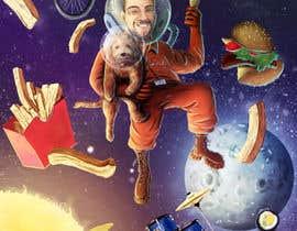 #23 for Cartoon of Characters in Space! by MarekDAZPostulka