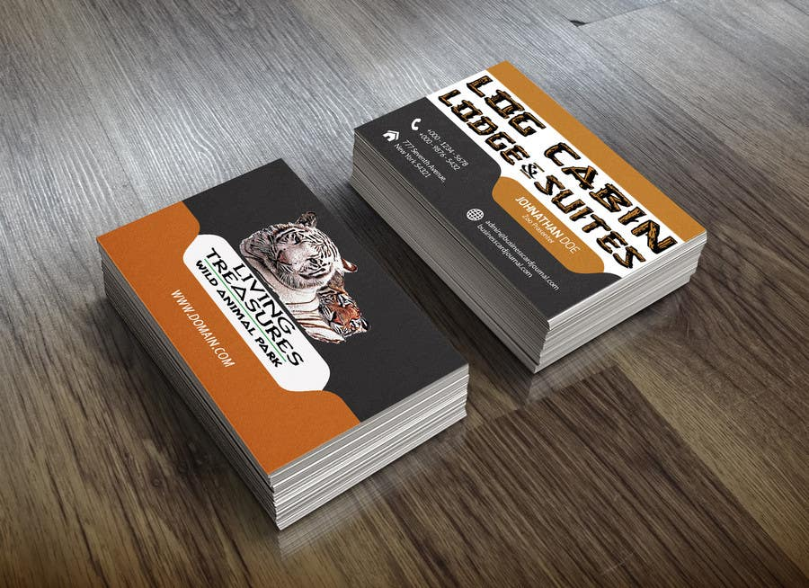Entry #39 by yasinmiya9241 for Zoo keeper Business Cards | Freelancer