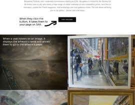 #2 para Design a Website Mockup de Crizok