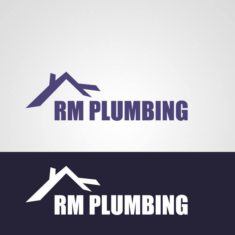 Penyertaan Peraduan #164 untuk Graphic Design for RM Plumbing